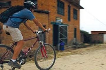 cycling in Chitwan