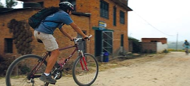 cycling in Chitwan