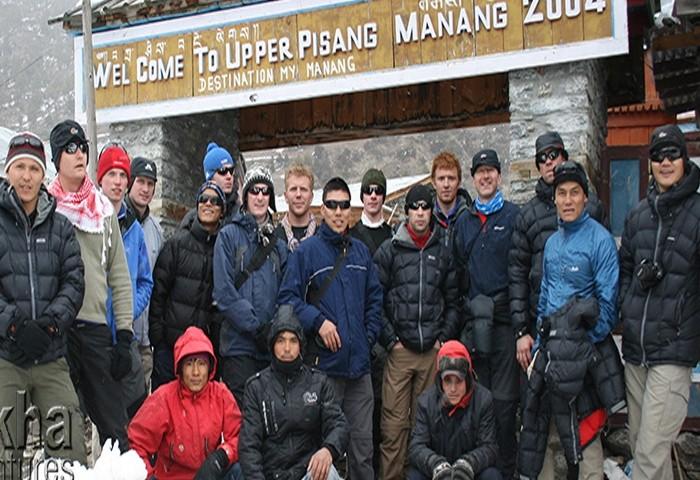 Upper manang