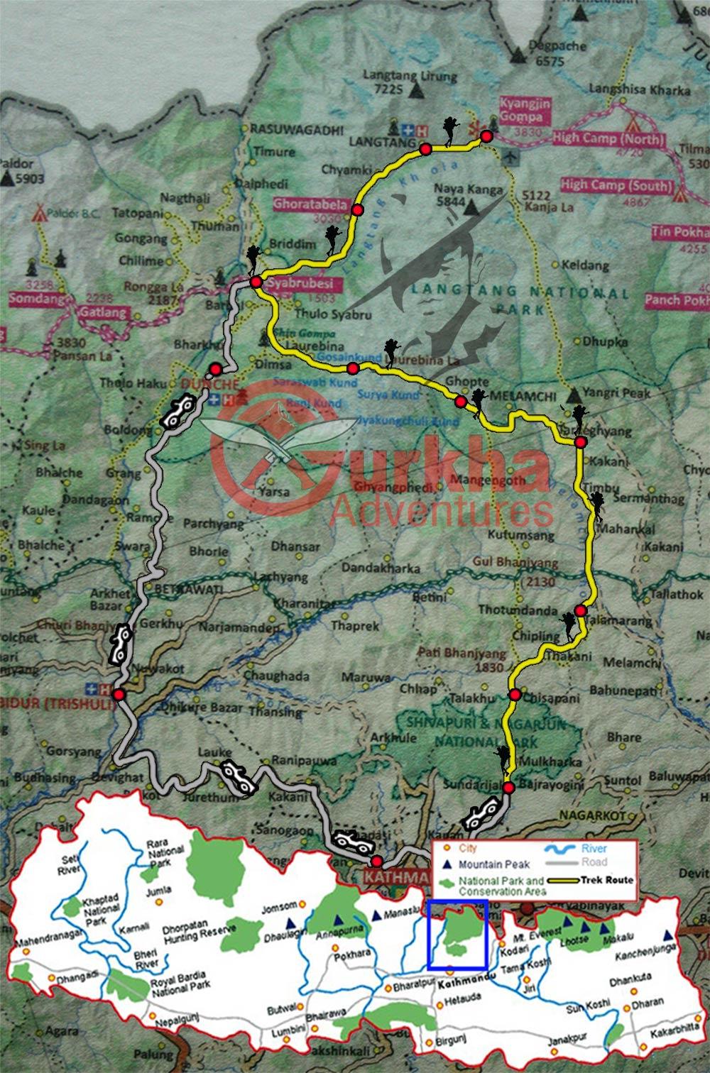 langtang-gosainkunda-chisapani-trek-map