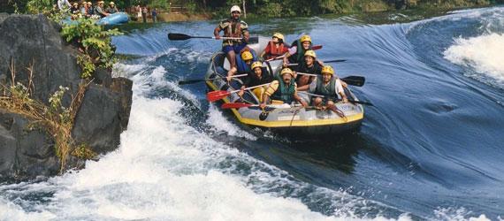 White river rafting
