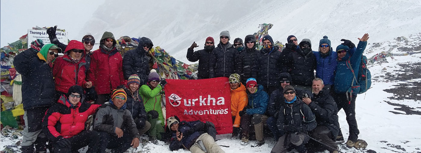 Team of Gurakha Adventure